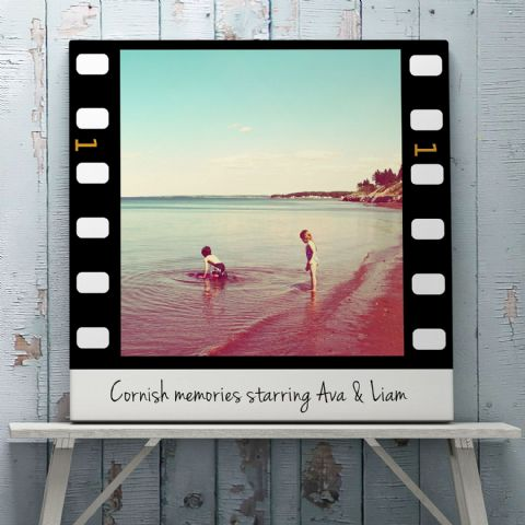 Personalised Film Strip Print Or Canvas